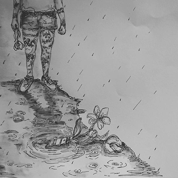 """Beitragsbild zu """"In my Mind"""" (Cover) von Monika Mertens"""