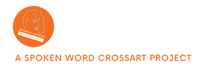 Logo des experimentellen Crossart Projekts Spoken Lyrics - Driving Words von Monika Mertens